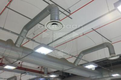 industrial ventilation air ducts